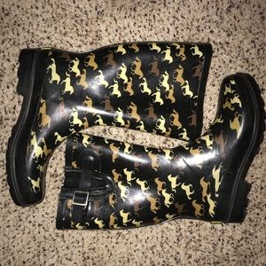Western Chief Women's Horsey Gallop Rain Boots